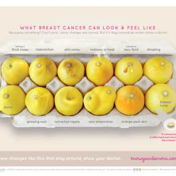 How lemons can show breast cancer