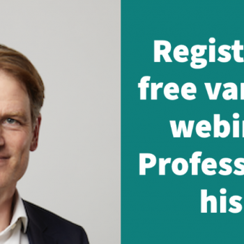 Professor heads patient webinar on varicose veins